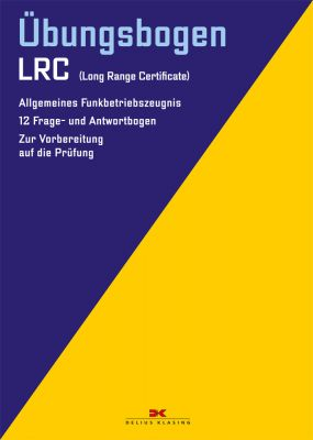 DSV Verlag, Übungsbogen Funkzeugnis LRC