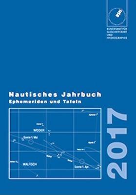 BSH 2175 Nautisches Jahrbuch 2017 Ephemeriden u. Tafeln
