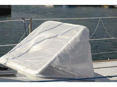 G-Nautics Moskitonetz für Decksluken Weiß