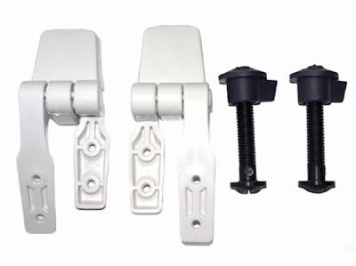 Jabsco 29098-1000 Scharnierset Toilettendeckel Standard