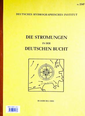BSH 2347 Die Strömungen in der Deutschen Bucht