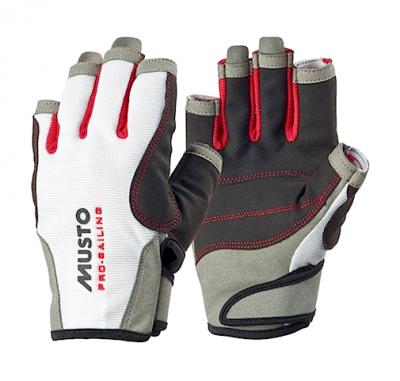 Musto Segelhandschuh Essential Sailing Glove S/F Weiß