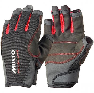 Musto Segelhandschuh Essential Sailing Glove S/F Schwarz