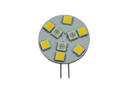 Talamex S-LED 9 weiss-rot 10-30V G4-seitlich