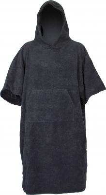 C4S Bade- Poncho Towel Schwarz