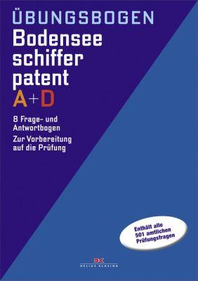 Delius Klasing, Übungsbögen Bodenseeschifferpatent A + D