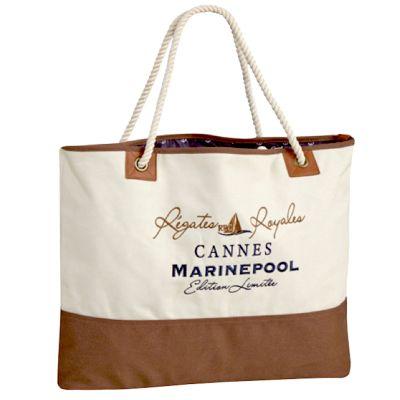 Marinepool Einkaufstasche Régates Royales Canvas Shopper