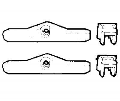 Ultraflex, K25 Verbindungsset für Zweihebelschaltungen