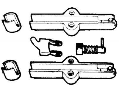 Ultraflex, K23 Verbindungsteil für C14 Schaltkabel