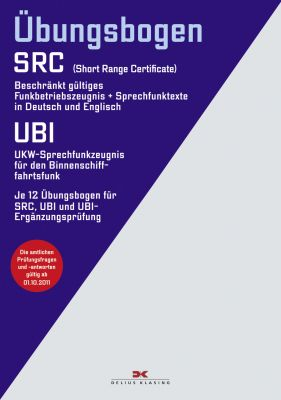 Delius Klasing, Übungsbogen Funkzeugnisse SRC u. UBI