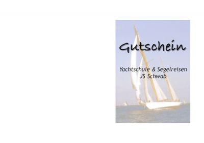 Geschenk- Gutschein JS Kurse & Segeltörns