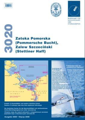 BSH- Sportbootkartensatz 3020 Stettiner Haff Pommersche Bucht