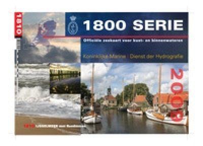 Seekartensatz Holland 1810 Ijsselmeer Randmeren Nordzeekanaal