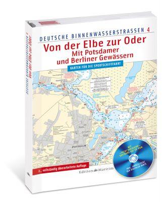 Delius Klasing, Digitale Binnenkarte Elbe, Oder, Berliner Gewässer, Potsdam