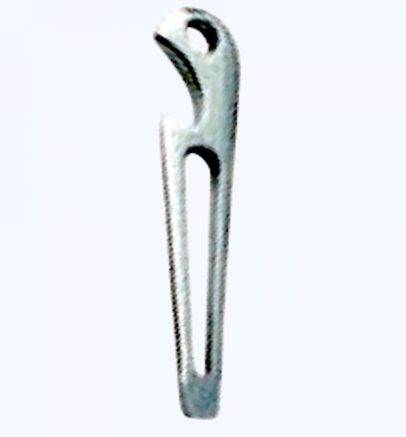 L´Ocean Edelstahl A4 Schnappschäkel mit Wirbelauge