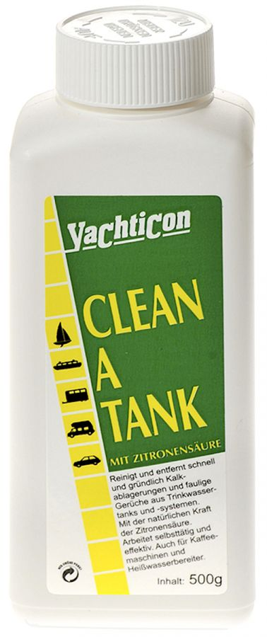 how to clean a tank