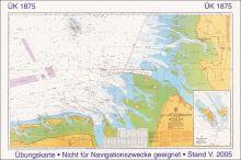 SKS - Übungsseekarte Ü 1875, The Jade to Norderpiep