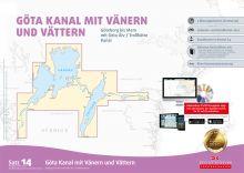 Delius Klasing Seekartensatz 14 Götakanal Vänern Vättern Papier & Digital