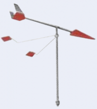 Marinetech, Edelstahl- Verklicker Windking, 40cm