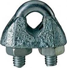 Talamex, Seilklemme Stahl verzinkt