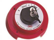 Talamex Batteriehauptschalter 12V 250A 2 Schlüssel absperrbar