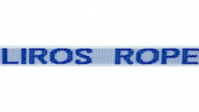 Liros, Gurtband PP Multifill 25mm, blau-weiss