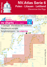 NV Verlag Seekartensatz Serie 6 Polen - Litauen - Lettland