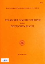 BSH 2346 Atlas der Gezeitenströme in der Deutschen Bucht