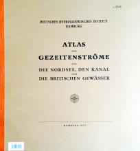 BSH 2345 Atlas der Gezeitenströme für die Nordsee