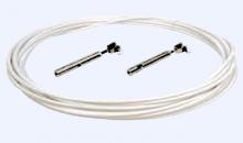 L´Ocean Relingsdrahtset Edelstahl A4 7x7 PVC ummantelt