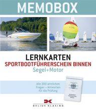 Delius Klasing, Lernkarten Memobox SBF Binnen Segeln / Motor