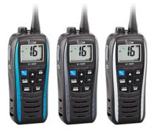 ICOM, IC-M25 Euro, UKW Handsprechfunkgerät