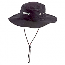 Musto, Seglerhut Evo Fast Dry Brimmed Hat, Schwarz