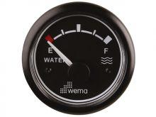 Wema, Tankanzeige Trinkwasser