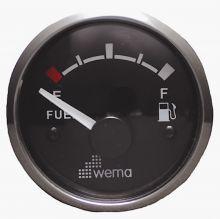 Wema, Tankanzeige Treibstoff, Silber