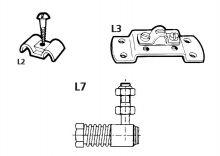 Ultraflex L2 Befestigungsschelle Schaltzüge