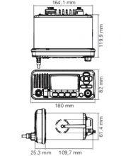 Icom, IC-M 330GE UKW- Sprechfunkanlage mit DSC & GPS