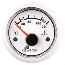 Wema, Anzeigeinstrument Wassertemperatur