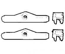 Ultraflex K25 Verbindungsset Zweihebelschaltungen
