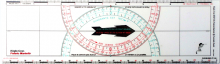 L´Ocean Navigationsset Zirkel & Breton Kurslineal Polaris Marin Air