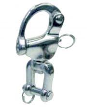 L´Ocean Schnappschäkel mit Wirbelschäkel Edelstahl INOX A4-AISI 316