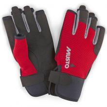 Musto Segelhandschuh Essential Sailing Gloves S/F, Rot