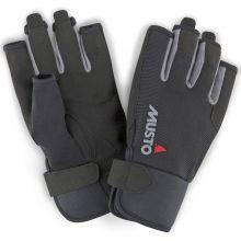 Musto, Segelhandschuh Essential Sailing Gloves S/F, Schwarz