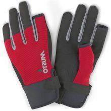 Musto Segelhandschuh Essential Sailing Glove L/F, Rot