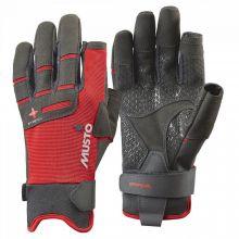 Musto, Segelhandschuh Performance Glove L/F Lang, Rot
