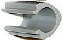 Lewmar 10 St. Decksluken Scharnierkappe 361027999 grau