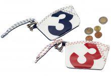 C4S, Schlüssel- Etui Sea Key Wallet, Navy / Rot