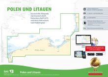 Delius Klasing, Seekartensatz 13  Polen und Litauen, Papier & Digital