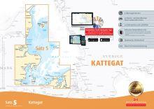 Delius Klasing Seekartensatz 5  Kattegat Papier & Digital