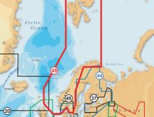 Navionics, Vektorkarte Gold 49XG Norwegen